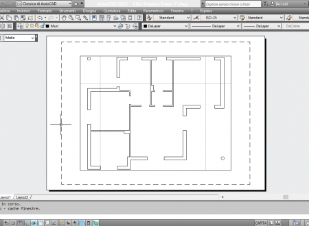 La stampa in AutoCAD